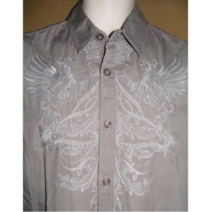 GUESS Shirt, S, Embroidered, SS Date night